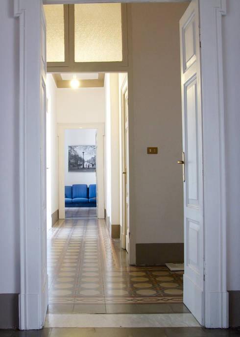 restauro appartamento in edifico storico f p di studio