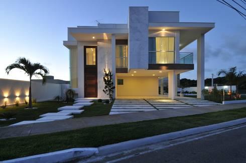 Casa contempor nea por espa o cypriana pinheiro homify - Casas de 1 piso bonitas ...