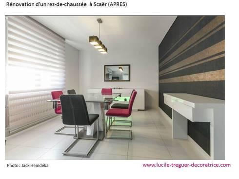 r novation d 39 un rez de chauss par lucile tr guer d coratrice d 39 int rieur homify. Black Bedroom Furniture Sets. Home Design Ideas