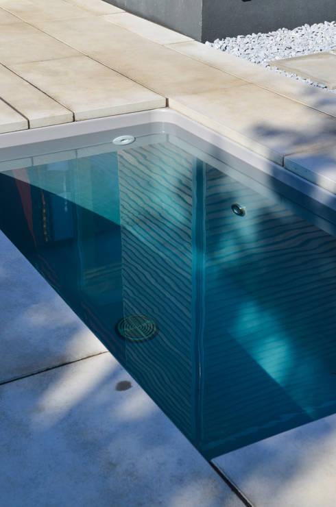 wat meersalzwasser-tauchbecken / minipool by design@garten | homify - Schwimmingpool Fur Den Garten