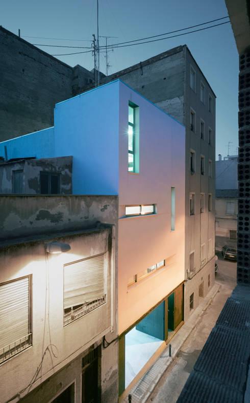 Vivienda Teresa: Casas de estilo  de Rocamora Arquitectura