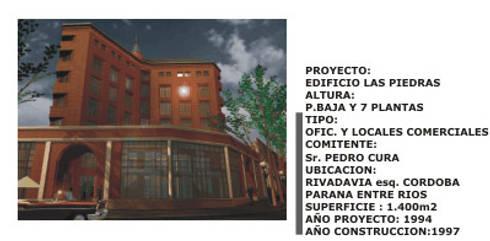 Edificios: Casas de estilo moderno por Estudio Cassano y Asociados