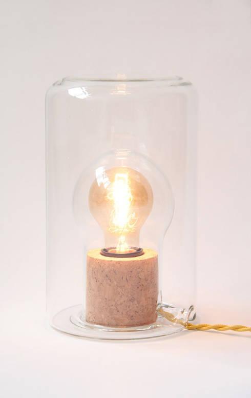 charlotte juillard design lampe sous cloche homify. Black Bedroom Furniture Sets. Home Design Ideas
