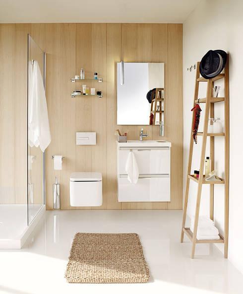 20 ba os modernos y perfectos para peque os espacios for Muebles de bano para espacios pequenos