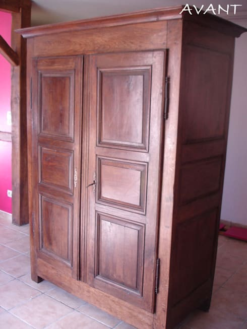 relooking armoire 2 portes di couleur de vie coaching d co homify. Black Bedroom Furniture Sets. Home Design Ideas