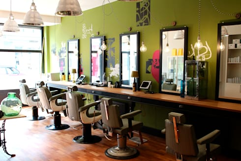 Genco Male Grooming Salon:  Commercial Spaces by  Breaad