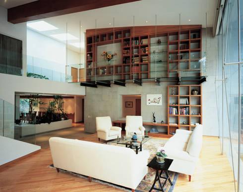 Residencia Verde: Hogar de estilo  por Arditti+RDT Arquitectos