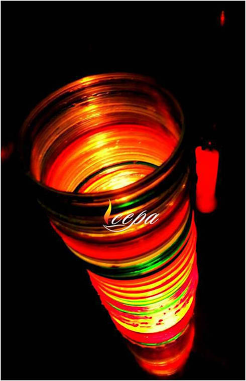 Table Lamp:  Living room by Deepaakula Design