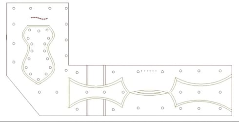 Ceiling Design:  Hotels by Deepaakula Design