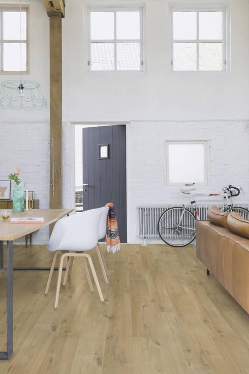 impressive laminate by quick step homify. Black Bedroom Furniture Sets. Home Design Ideas
