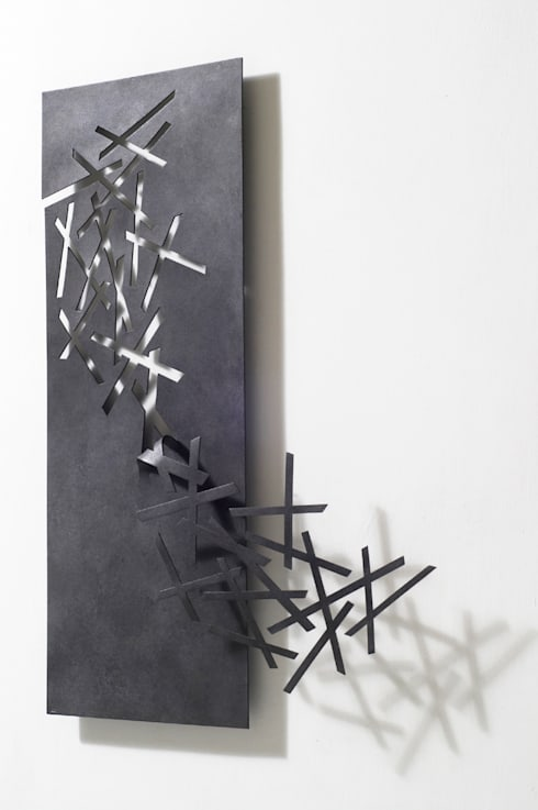 Wall Sculptures:  Artwork by Ane Christensen