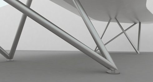 Conference Table Design: modern Study/office by atelier blur / georges hung architecte d.p.l.g.