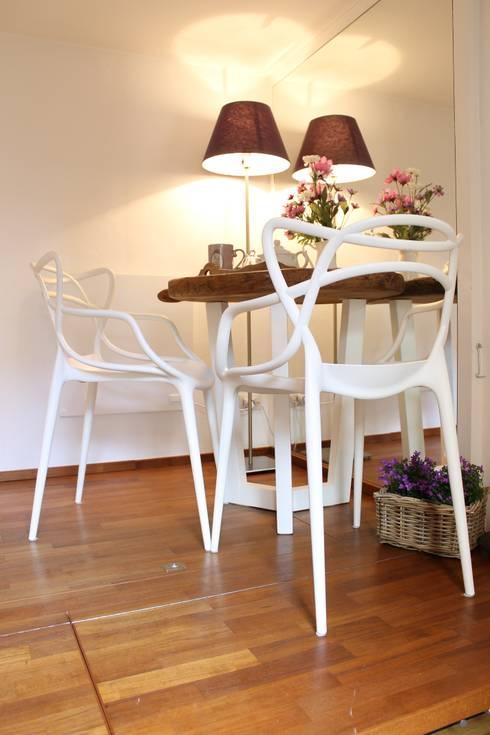 Salas de jantar  por Arch. Silvana Citterio
