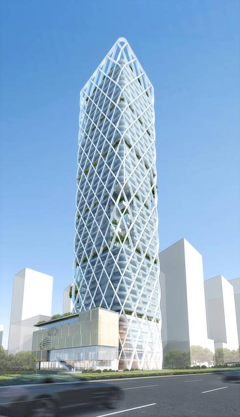 VC-PE Tower:   by atelier blur / georges hung architecte d.p.l.g.