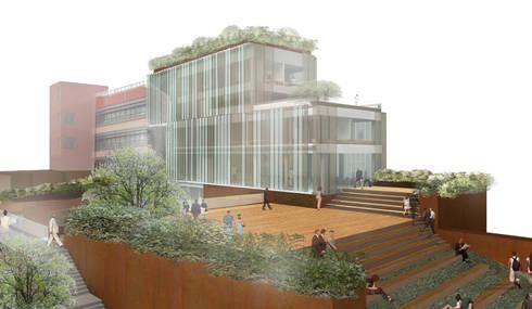 Concorso di idee per la progettazione di edificio for 2 idee di progettazione di garage per auto