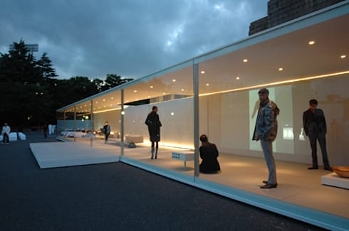 World of Calvin Klein / THE HOUSE : Shinichi Ogawa & Associates / urbanist architectが手掛けたイベント会場です。
