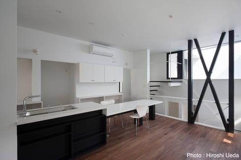 オーダーキッチン: 石川淳建築設計事務所が手掛けたキッチンです。