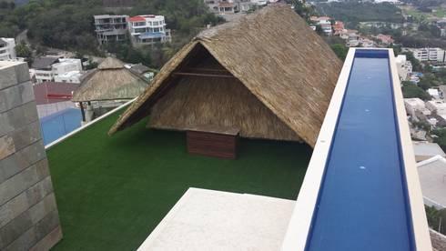 Pasto alfombra: Jardines de estilo moderno por Arquiindeco