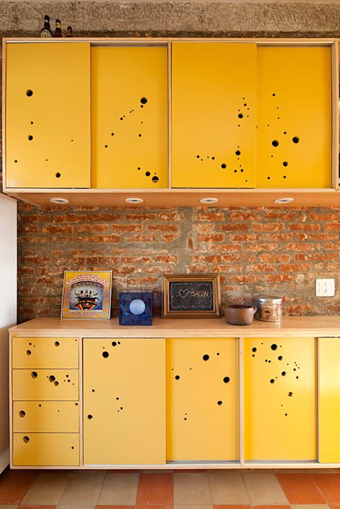 Cocinas de estilo  por Zoom Urbanismo Arquitetura e Design