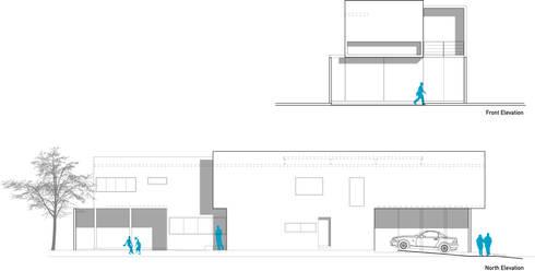 Casa VA_01:  de estilo  por Lopez Resendez STUDIO