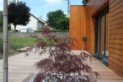 Aménagement terrasse esprit Zen von EURL OLIVIER DUBOIS | homify