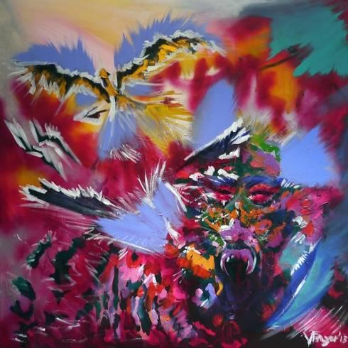 The Hunt:  Artwork by vickyfrazer.com