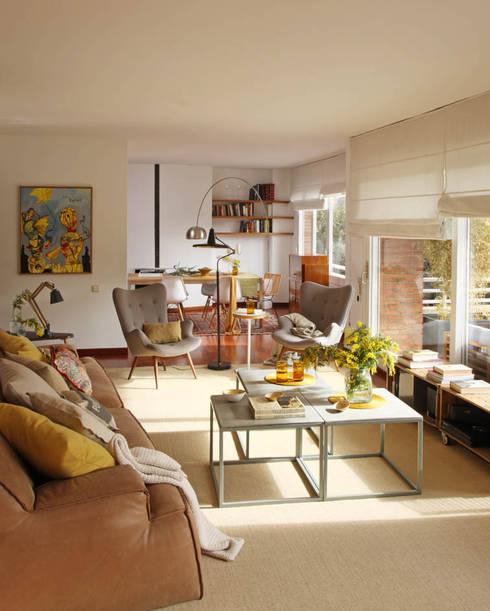 Salas de estar escandinavas por BONBA studio