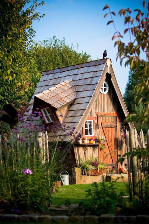 Lieblingsplatz: Gartenhäuser mit märchenhaften Charme:  Garten von Steffen GmbH