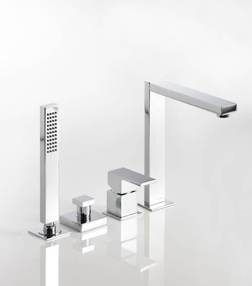 Banheiro  por Rubinetterie Ponsi Spa