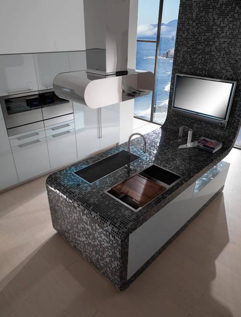 Studio: Cucina in stile in stile Eclettico di AGUZZI DESIGN STUDIO