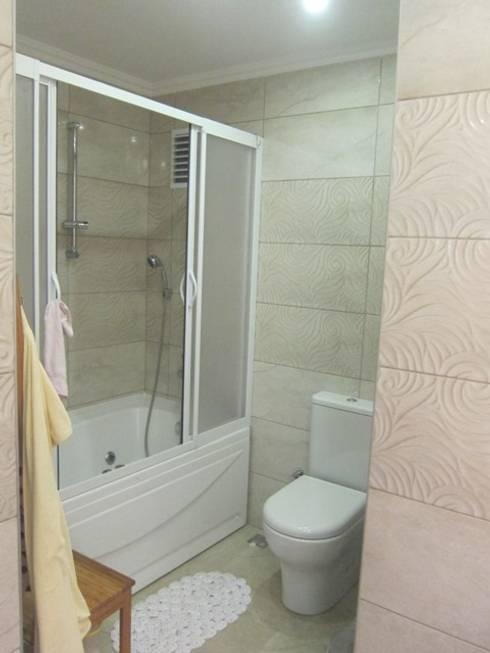 Ванная комната в . Автор – YALÇIN MİMARLIK & DEKORASYON