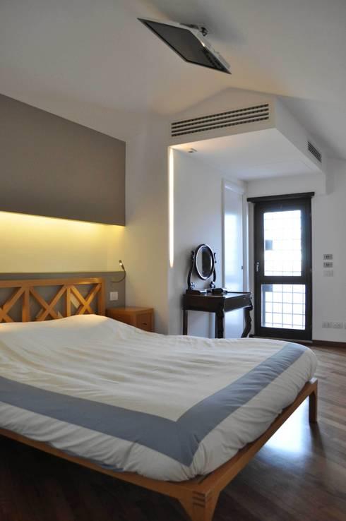 Progetto residenziale   Roma   Quartiere Talenti - 2013: Case in stile in stile Moderno di ar architetto roma