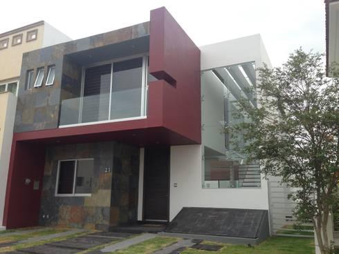 Provenza L21: Casas de estilo moderno por Arki3d