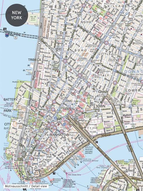 New York:  Geschäftsräume & Stores von EXTRATAPETE
