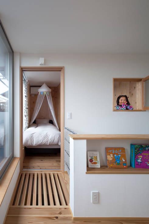 吉之丸の家: C lab.タカセモトヒデ建築設計が手掛けた子供部屋です。