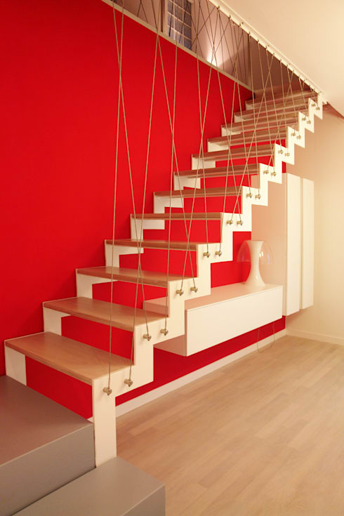Corridor & hallway by PIETRO BOLIS, architetto