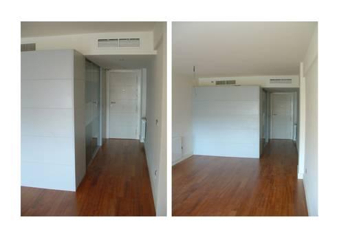 Reforma interior de vivienda: Casas de estilo moderno de Rein / Martínez, ARQUITECTOS