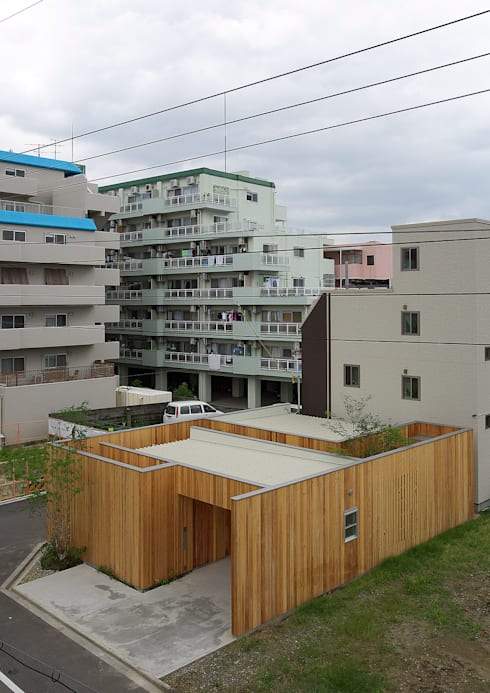 西三国の家 House in Nishimikuni: arbolが手掛けたバンガローです。