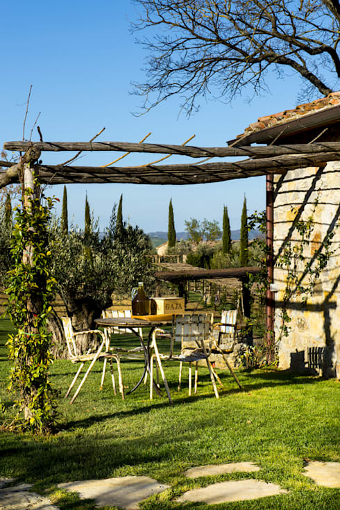 Toscane: Jardin de style  par dmesure
