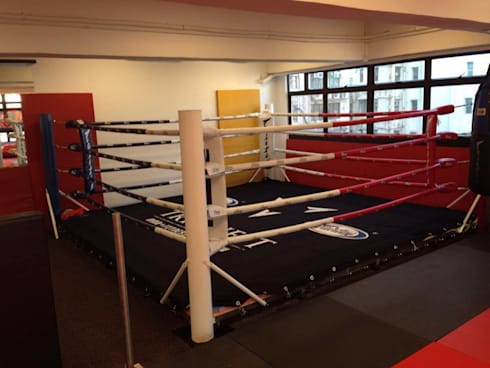 Boxing Ring: modern Gym by Oui3 International Limited