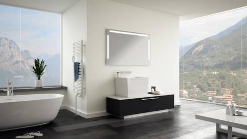 Schreiber Licht Design badspiegel mit hinterleuchtung by schreiber licht design gmbh homify