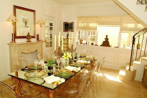 Dining Room: colonial Houses by Oui3 International Limited