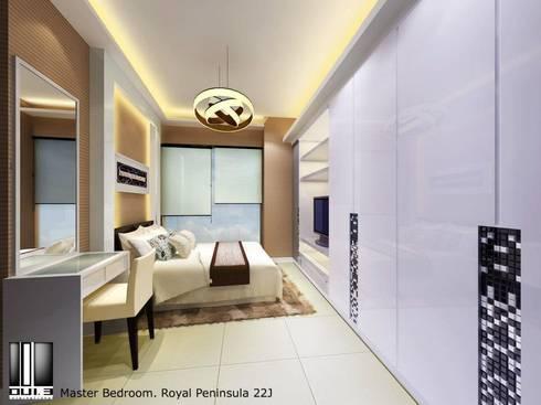 Master Bedroom: modern Living room by Oui3 International Limited