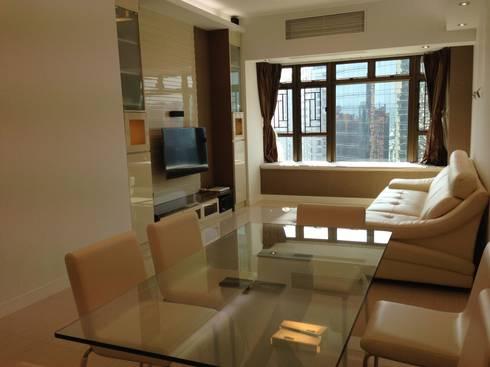 Living Room: modern Living room by Oui3 International Limited