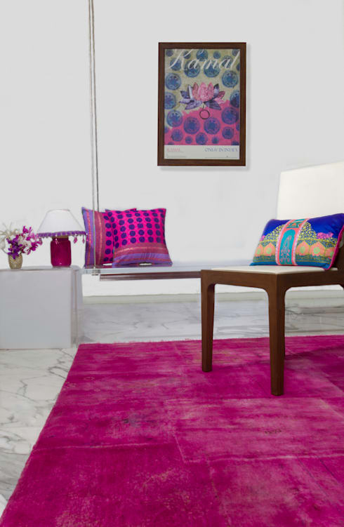 Cocoon:  Living room by Cocoon Fine Rugs