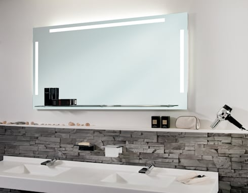 badspiegel ambiente de schreiber licht design gmbh homify. Black Bedroom Furniture Sets. Home Design Ideas