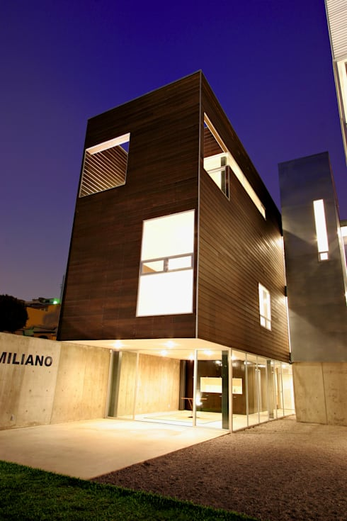 Casa Gracia: Casas de estilo moderno por Gracia Studio