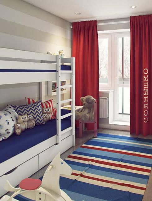 Quartos de criança  por Massimos / cтудия дизайна интерьера