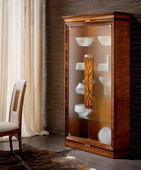 Salas de estilo moderno por Paco Escrivá Muebles