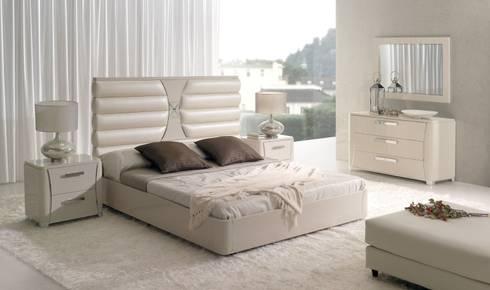 Colección de Dormitorio Elysee: Dormitorios de estilo moderno de Paco Escrivá Muebles